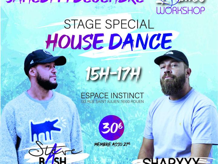 INSTINCT WORKSHOP STEVE BASH SHARKXX 14/12