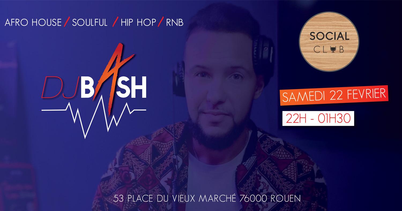 DJ BASH au Social Club
