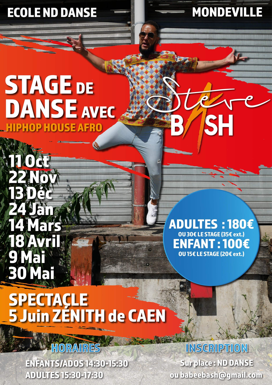Stage Steve Bash